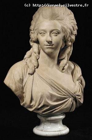 Anne Charlotte Sophie de Silvestre par Augustin Pajou