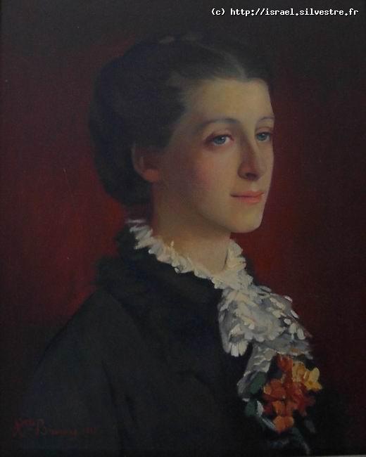 Suzanne Delpech de Saint Guilhem par Henriette Browne