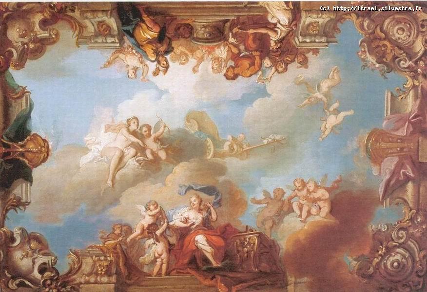 La toilette de Psyché et Venus