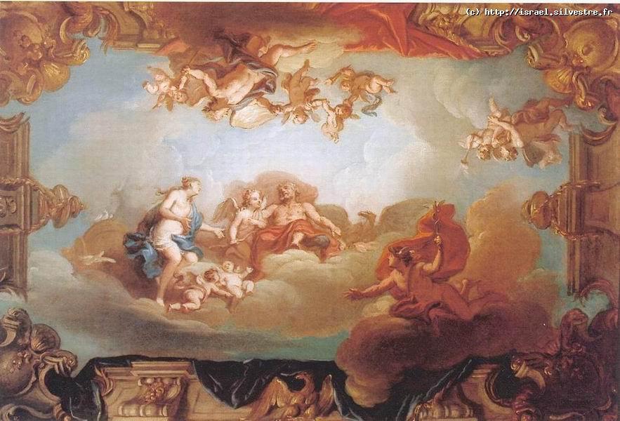 Vénus demande à Jupiter l'aide de Mercure