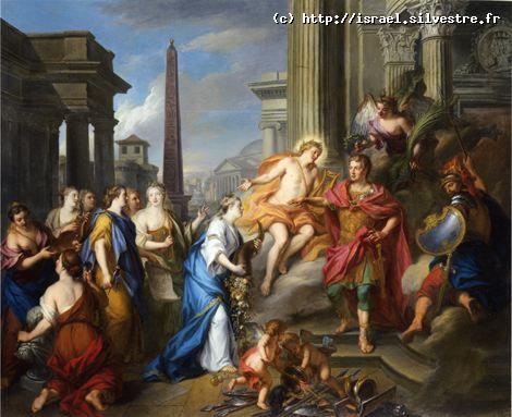 Auguste ferme le temple de Janus