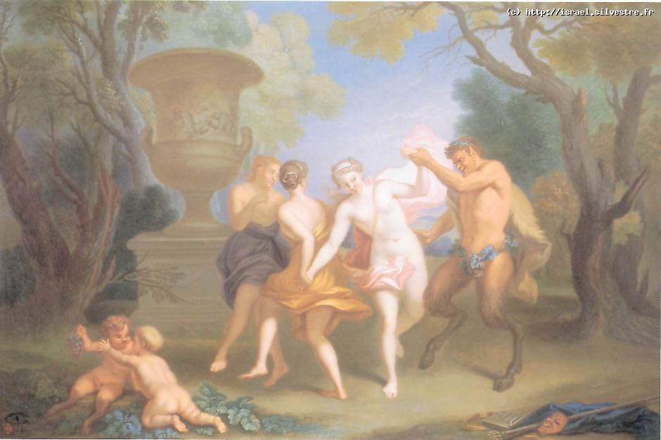 La ronde des nymphes et des satyres