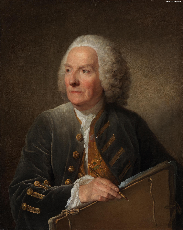 Greuze : portrait de Louis de Silvestre