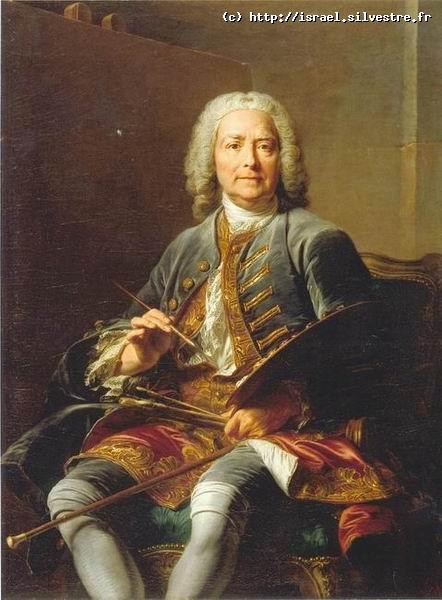 Jean Valade : Portrait de Louis de Silvestre