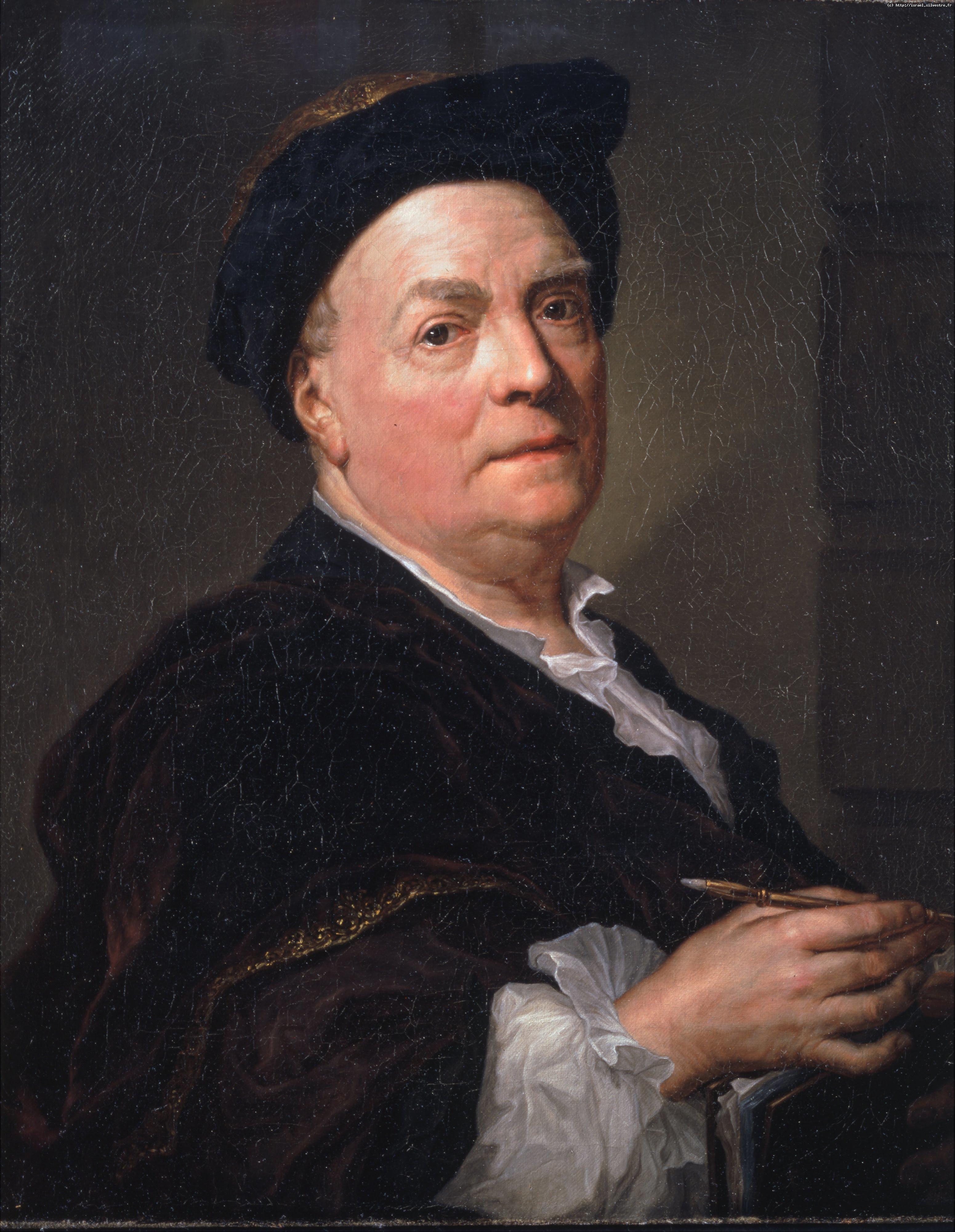 Anton Raphael Mengs  : Portrait de Louis de Silvestre