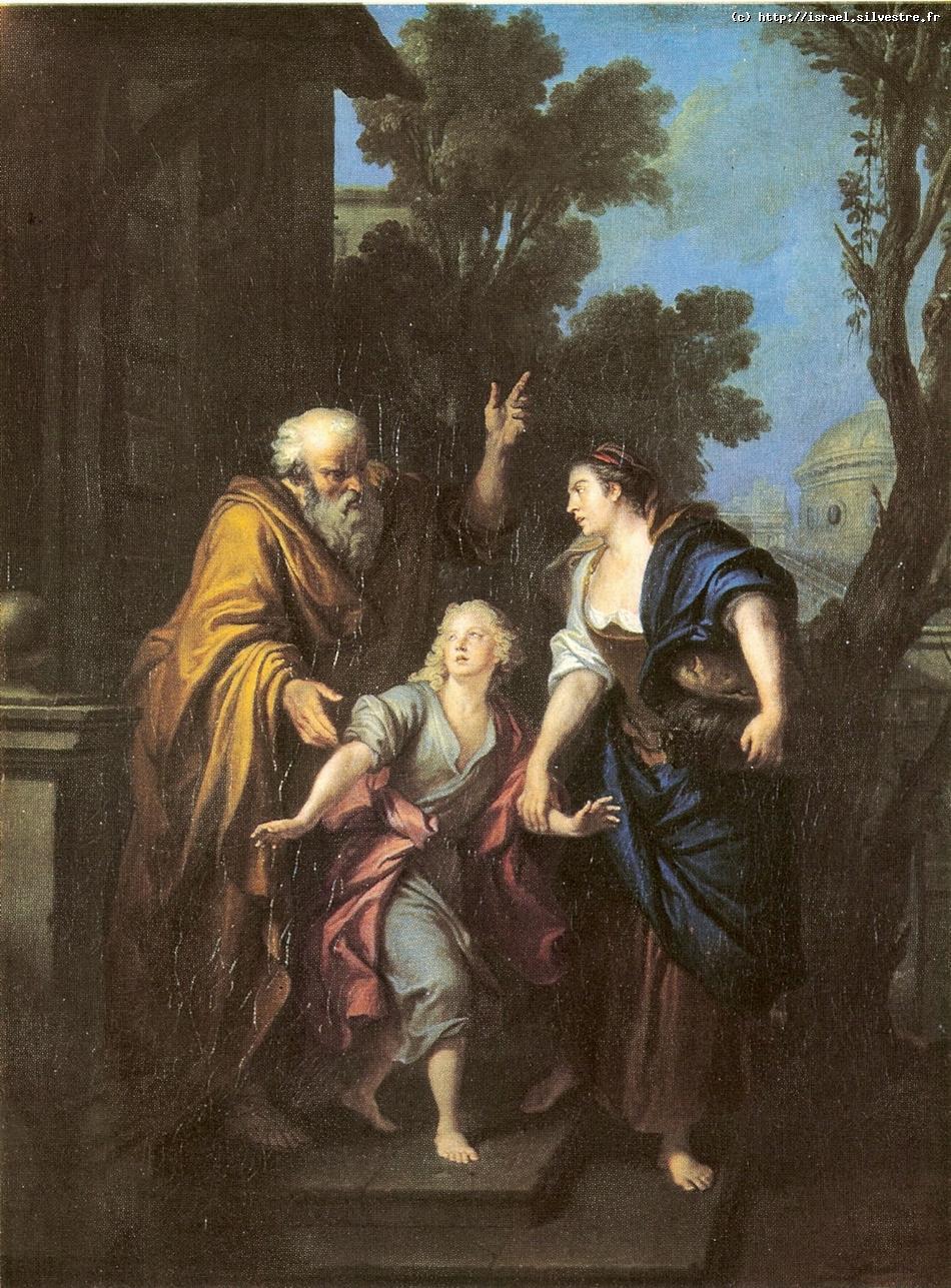 Agar chassé par Abraham