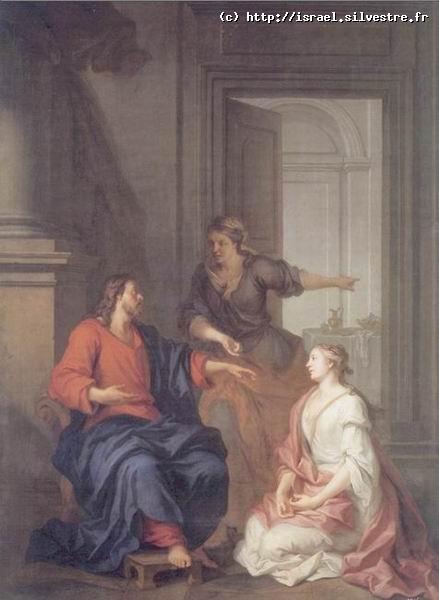 Le Christ auprès de Marie et Marthe